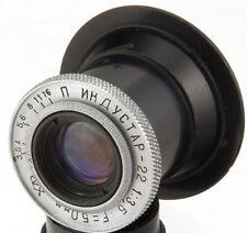 INDUSTAR-22 50mm f/3.5 Old USSR Russian Tessar 35mm enlarger lens M39 LTM I-22