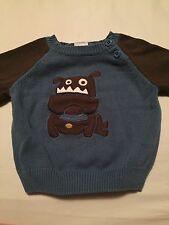 Gymboree Puppy Dog Tails Boys Sweater Size 6-12 Months