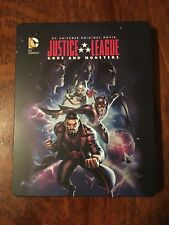 Justice League: Gods and Monsters (Blu-ray/DVD, UV, 2015) Target Steelbook