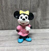 Vintage Walt Disney Productions Japan Ceramic Minnie Mouse Figurine