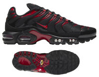 New NIKE Air Max Plus TN Men's Athletic Sneakers training black red all sizes
