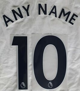 Sporting id Tottenham Hotspur Shirt Name & Number Printing 2018 Onward Jnr  BLUE