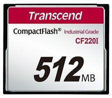 Transcend 512MB Industrial Temperature Range CF220I 220X Ultra CompactFlash Card