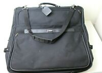 Delsey Black Lightweight Traveling Garment Bag Great Condition
