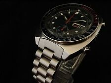 Men's Solid End-Link PRESIDENT Bracelet for 6139 SEIKO Chronograph Pepsi Pogue