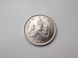 Lovely BUNC 1970 Queen Elizabeth II Large 5P
