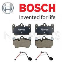 For Audi Q7 VW Touareg Cayenne Rear Disc Brake Pad Set Bosch & Wear Sensors