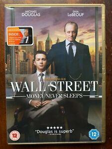 Wall Street 2 Money Never Sleeps DVD 2010 Michael Douglas Finance Drama Movie