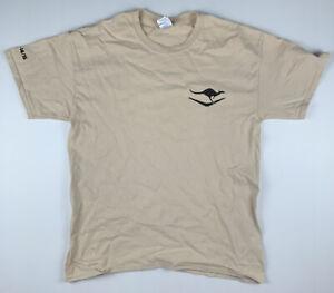 Qantas Force Protection Element 2 Afghanistan Kabul 14/15 T-Shirt Size L GILDAN
