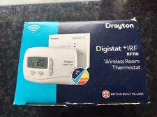 Drayton RF710 Wireless Digistat+1 RF Digital Room Stat Thermostat
