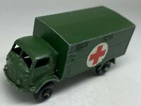 Matchbox Lesney No 63 Green Service Ambulance Ford 3 Ton 4x4 - Near Mint
