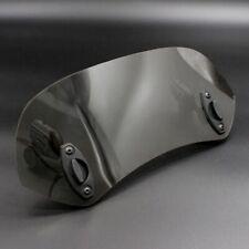 Adjustable Clip on Windshield Extension Spoiler Wind Deflector for Motorcyc U2Z6