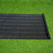 Weed Barrier Landscape Ground Cover 6x300ft Plastic Mulch Weed Block
