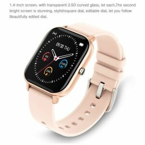 Waterproof Smart Watch Fitness Heart Rate Blood Pressure Monitor for iOS Android