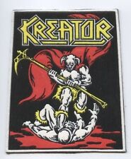 Kreator synthetic 3D patch early 80's RARE