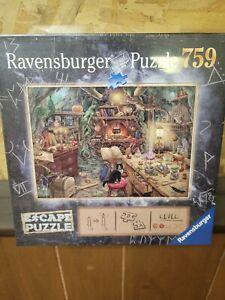 """ESCAPE - Witch's Kitchen 759 Piece Puzzle by Ravensburger 27 x 20"""""""