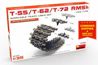 Miniart 37052 - 1/35 Track for Tanks T-55 / T-62 / T-72 RMSh Scale Models Kit
