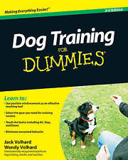 NEW Dog Training For Dummies by Jack Volhard
