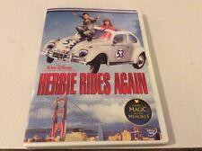 HERBIE RIDES AGAIN DISNEY DVD