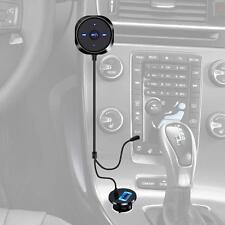 Bluetooth Audio Music Receiver 3.5mm Jack Car AUX Speaker Mic Handsfree Adapter