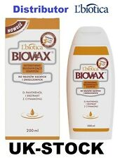 L'BIOTICA BIOVAX FOR DRY AND DAMAGED HAIR  SHAMPOO 200 ML SUCHYCH I ZNISZCZONYCH