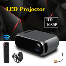 YG320 Portable 1080P Home HD Theater TV LED Projector Home Micro Mini Projector