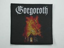 GORGOROTH BURNING CHURCH WOVEN PATCH