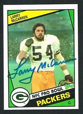 Larry McCarren #274 signed autograph auto 1984 Topps Football Trading Card