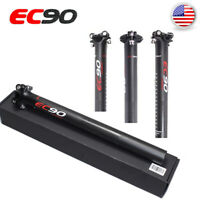 "EC90 27.2//30.8//31.6/"" MTB Bike Carbon Seatpost Seatpost Clamps 30.2//31.8//34.9mm"