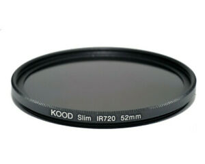 Kood 52mm R720 Infrared Special Effects Filter 720nm Infra red Filter 52mm