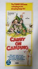 CARRY ON CAMPING DAYBILL AUSTRALIAN MOVIE POSTER