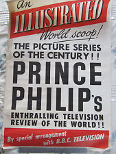 Original Newspaper Stand Poster (The Illustrated London News) Prince Philip