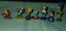 Simpsons Mini Figures Bart Marge Homer Maggie Lisa Milhouse kinder surprise