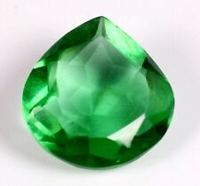 Colombian 6.65 Ct Natural Green Emerald Pear Cut Loose Gemstone Certified A1282