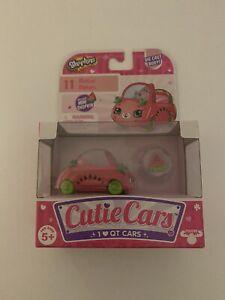 SHOPKINS CUTIE CARS SERIES 1 # 11 MOTOR MELON DIE CAST CAR