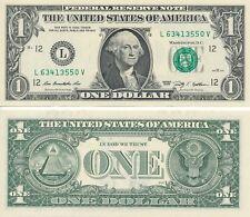 USD 1 Dollar Schein aus 2013 neu und unzirkuliert ++