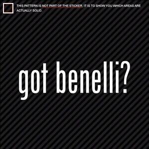 (2) GOT BENELLI Sticker Decal Die Cut shotgun