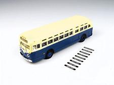 HO Scale-Classic Metal Works-32307-GMC TDH 3610 Transit Bus-Transit Blue & Cream