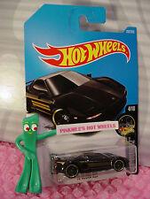 '90 ACURA NSX #262✰black;gold rim pr5✰NIGHTBURNERZ✰2017 i Hot Wheels case L/M