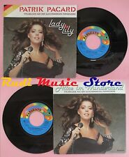 LP 45 7'' LADY LILY Patrik pacard Alice im wunderland 1985 PAPAGAYO no cd mc dvd