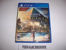 Original Box Case Replacement Sony PlayStation 4 PS4 ASSASSIN'S CREED ORIGINS