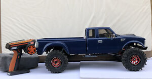 Cross RC PG4L 1/10 4x4 2-Speed Dually Pickup Truck Crawler Kit With Upgrades RTR