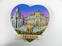 Dresden Semperoper,Frauenkirche Germany,Souvenir Magnet Poly 3 D Optik,7 cm