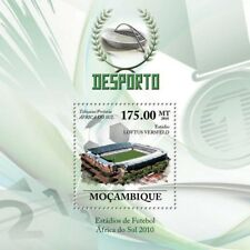 2010 FIFA Football World Cup South Africa LOFTUS VERSFELD Stadium Stamp Sheet