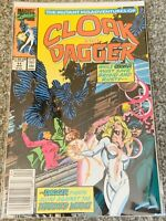 Cloak And Dagger #11 Rare 1990 Marvel Comic Very Fine Condition