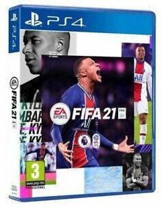 FIFA 21 (Sony PlayStation 4, 2020)ps4 NUOVO AUDIO E MENU IN ITALIANO UPGRADE PS5