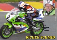 uralte AK, Autograph Motorradrennfahrer Jochen Schmid