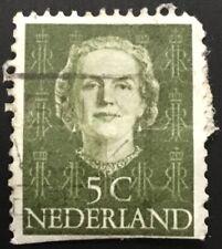 Netherlands stamps - Queen Juliana (1909-2004)   5 Dutch cent 1949