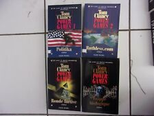 lot TOM CLANCY Power Games 1 2 3 4 tbe politika / ruthless.com / ronde / frappe