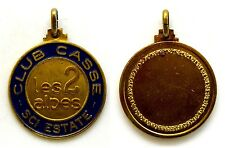 Medaglia Con Vernice Les 2 Alpes Club Casse Sci Estate Metallo Dorato